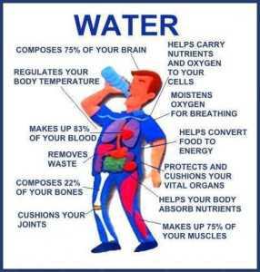 Buvez beaucoup d'eau pour une vie saine et c'est une méthode scientifiquement prouvée