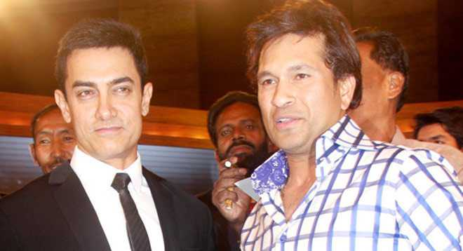 Sachin Tendulkar Aamir Khan Short Height Legend