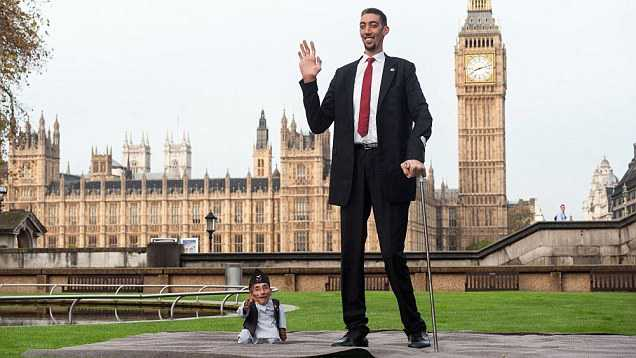 Tallest Person In The World 2014 Excessive Heigh...