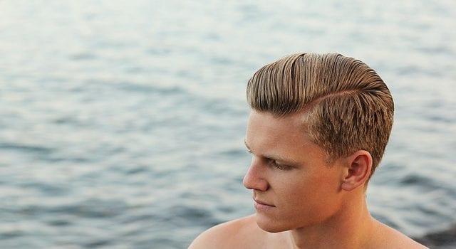 man hair growth