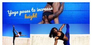Yoga Poses to Increase Height - Collage of 3 Girls Yoga Posing and Stretching