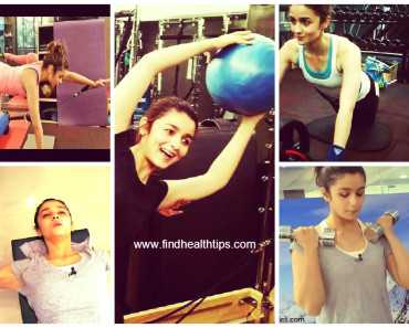 Alia Bhatt Workout Journey