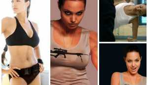 Angelina Jolie-Workout and Diet Plan