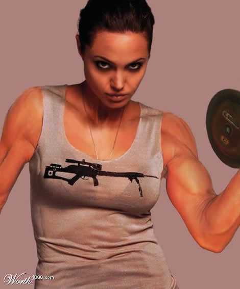 Angelina Jolie Workout Routine and Diet Plan