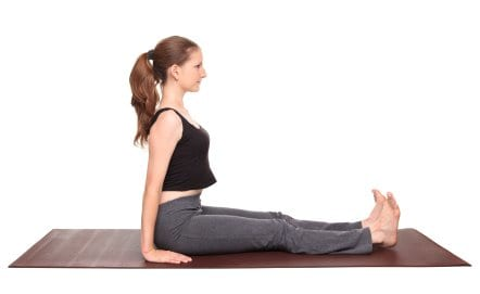 Dandasana or (Stick pose)