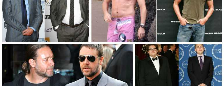 Fat to Fit Actors Hollywood
