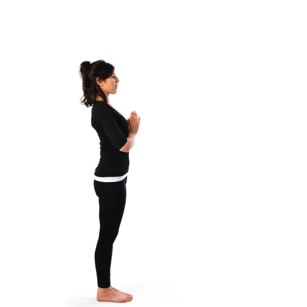 Pranamasana or (Prayer pose)