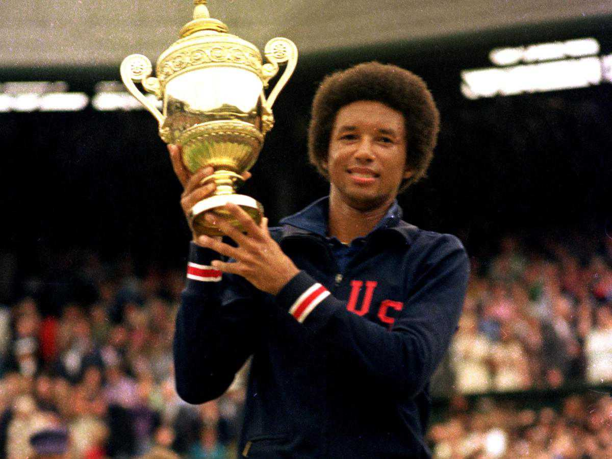arthur ashe a tennis player On saturday, 5 july 1975, arthur ashe recorded his greatest triumph on a tennis court with exclusive insight from his closest friends, james buddell of atpworldtourcom recounts how ashe lifted the wimbledon trophy — one of the most significant wins in the sport's history.