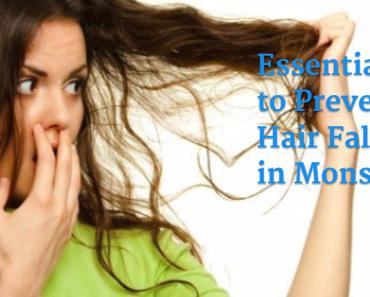 monsoon hair fall prevention