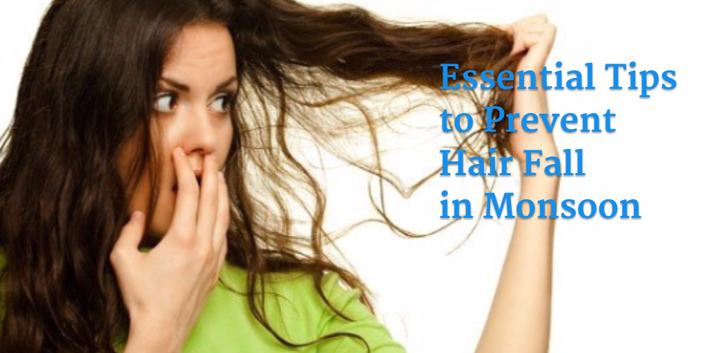 monsoon hair fall prevention