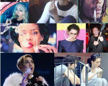 Smoking Weed Celebrities