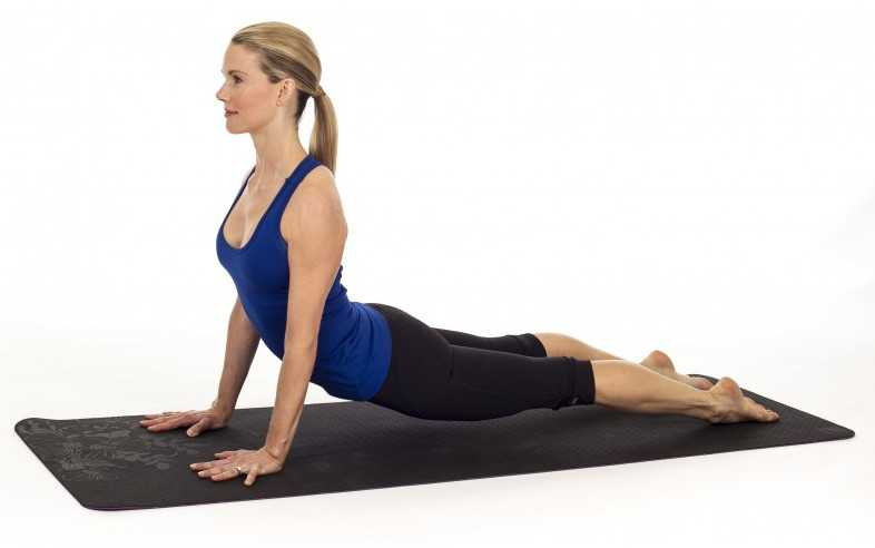 Upward Facing Dog Yoga Pose
