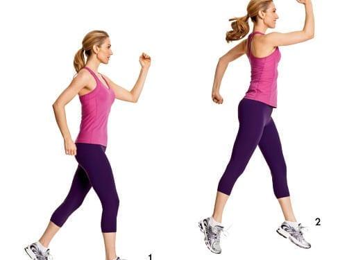 Scissor jump Exercise