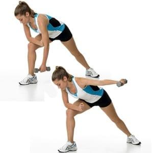 Triangle lat raise Exercise