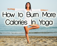 how to burn more calories doing yoga