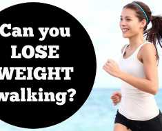 weight loss walking daily