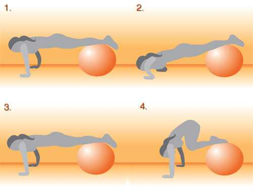 ball workouts exercises