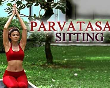 parvartasana mountain pose