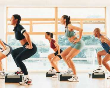 step aerobics lose weight