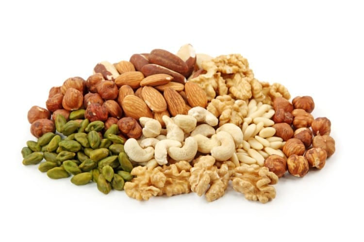 Fiber and protein rich food