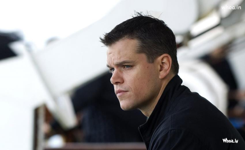 Matt Damon's hair color
