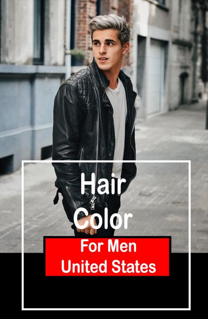 Top 10 Hair Color for Men in United States 1