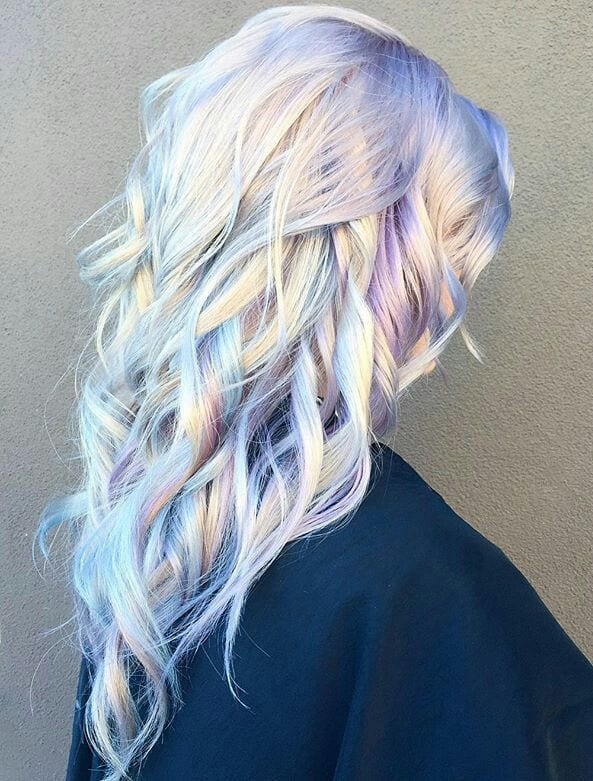 opal hair color