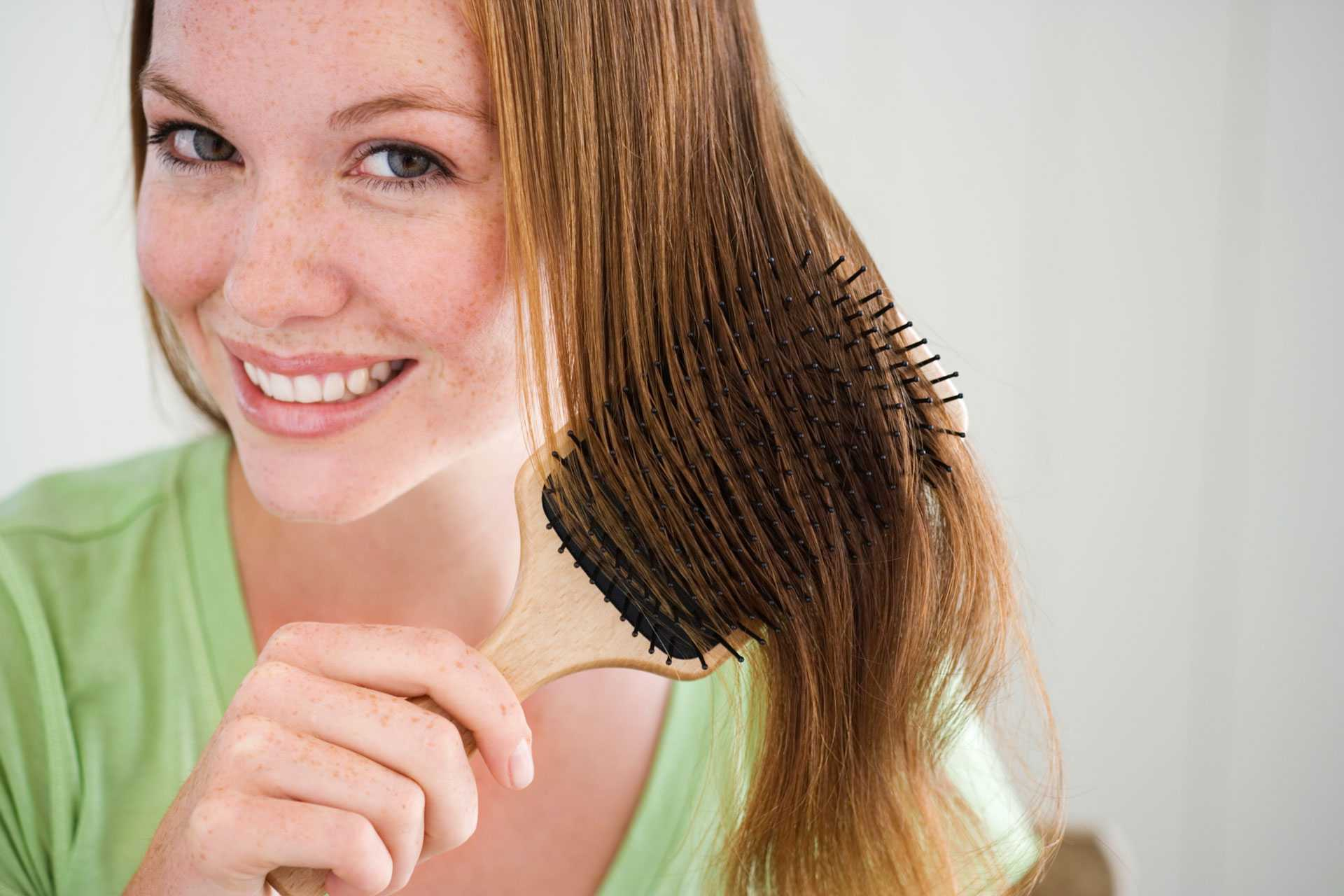 The Benefits Of Brushing Hair Everyday