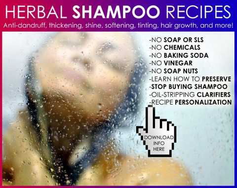 natural hair care shampoo