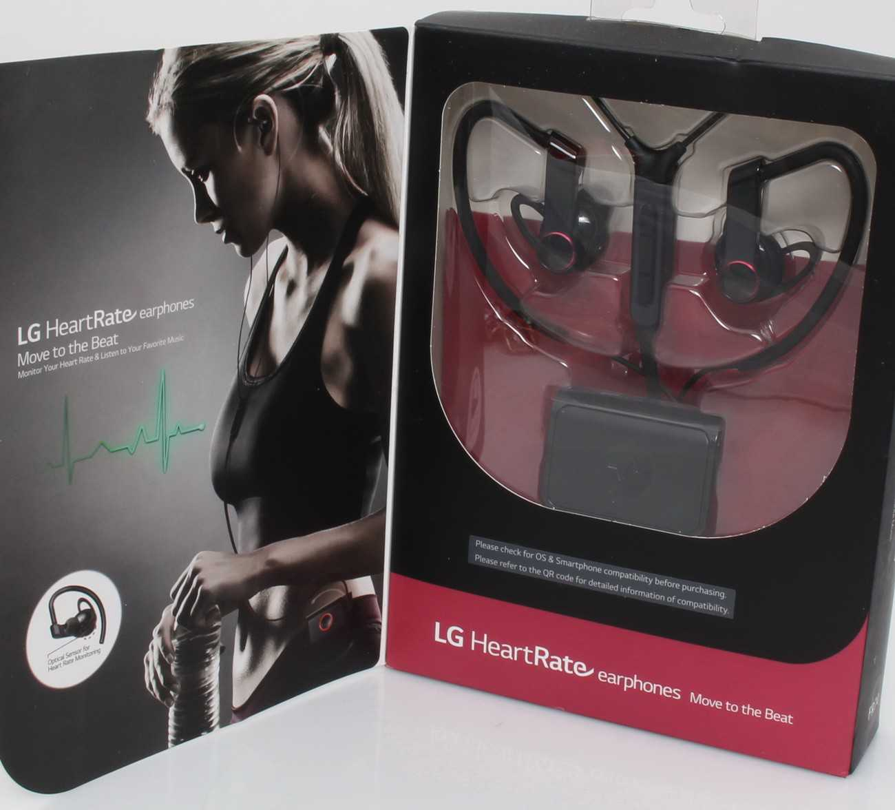 LG FR74 Heart Rate Monitor Earphones