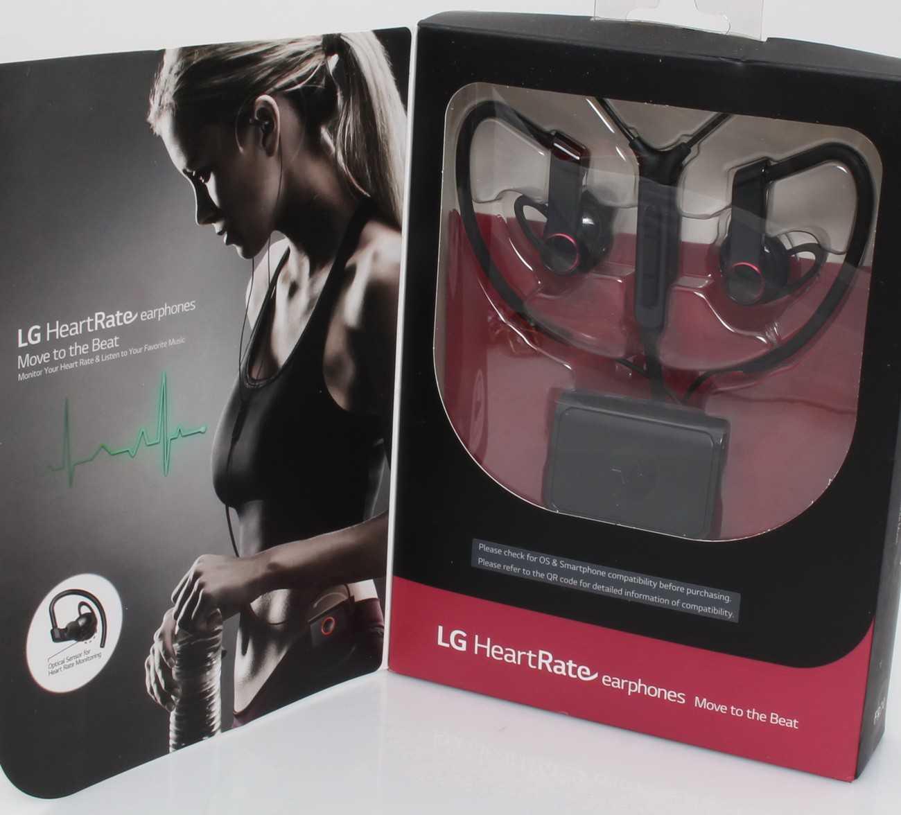 LG FR74 Heart Rate Monitor Earphones