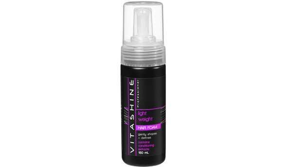 Vitashine protein and vitamin shampoo