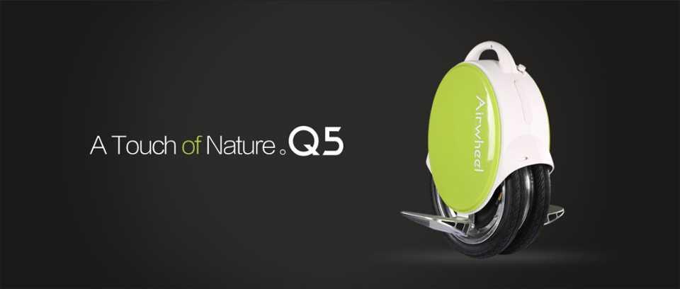 Airwheel Q5 Twin-wheeled Self Balancing Electric Unicycle
