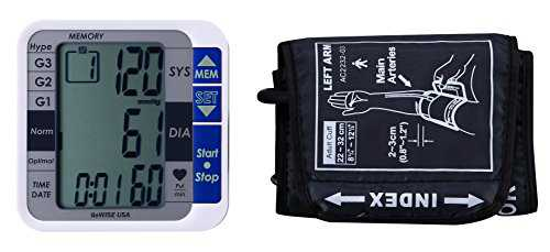 GoWise USA GW22051 Digital Blood Pressure Monitors