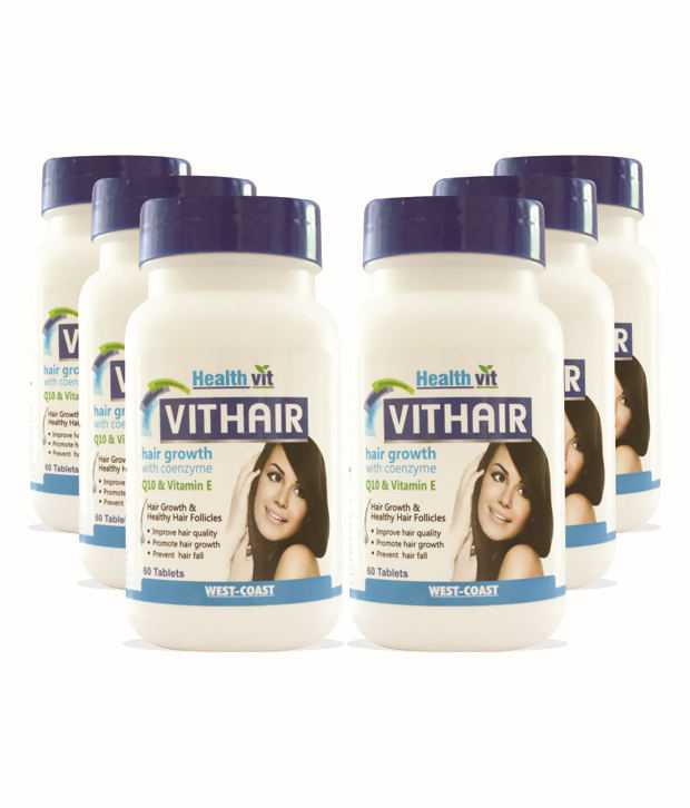 VITHAIR with Coenzyme with Q10 and vitamin E