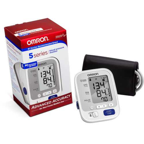 Omron 5 Series Upper Arm Blood Pressure Monitors