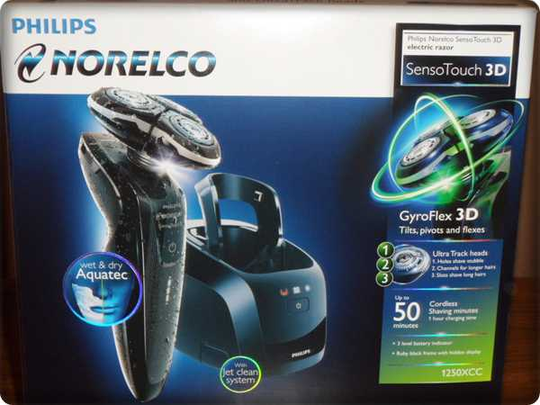 Philips Norelco 1280X/42 Senso Touch 3D