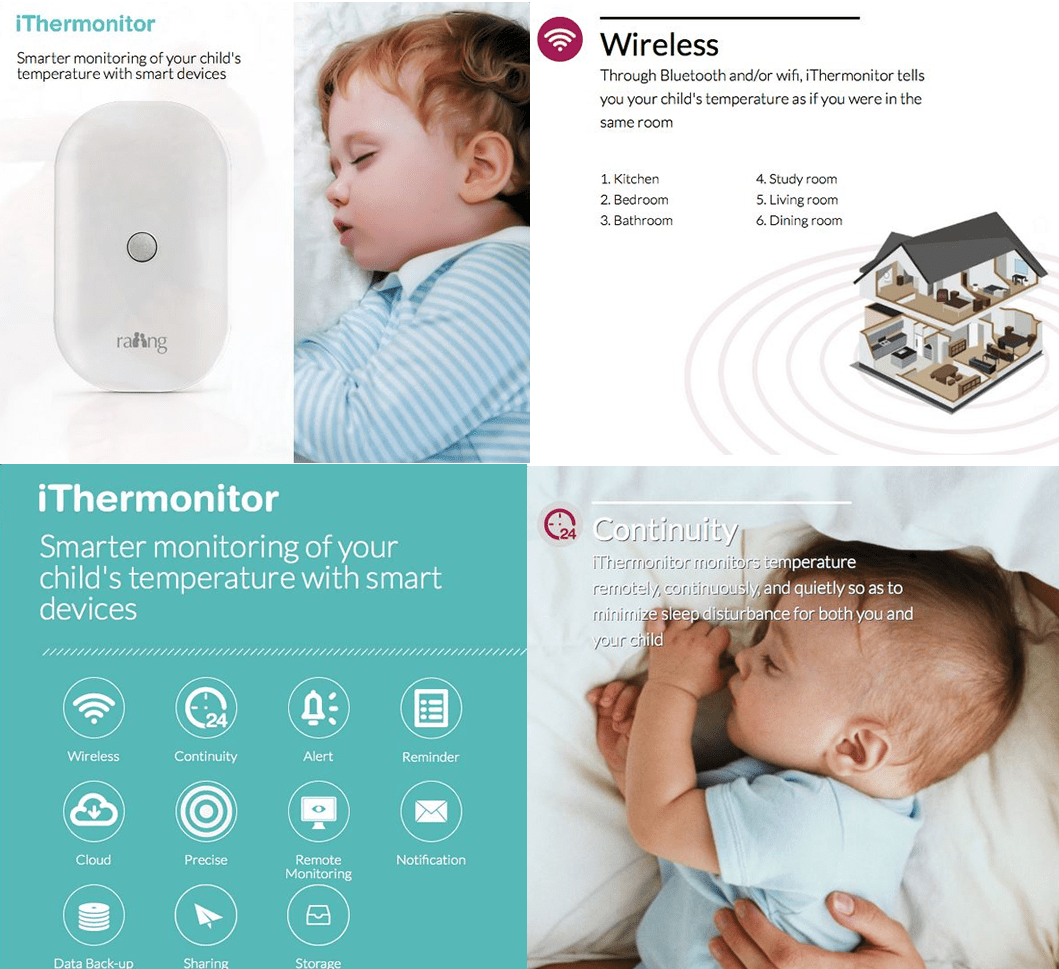 iThermonitor Wearable Basal Thermometers