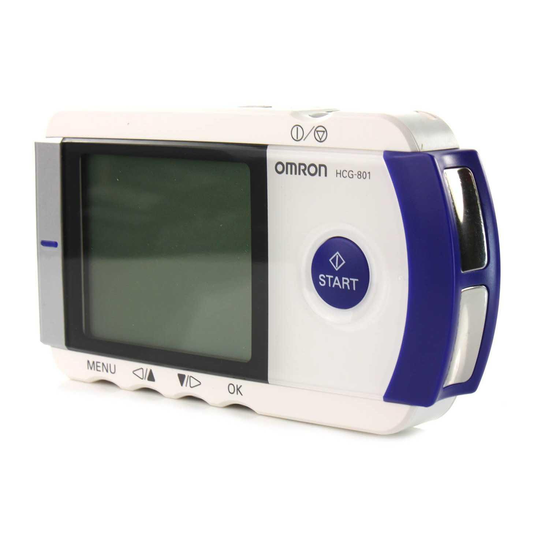 Omron HCG-801 Heartscan Portable ECG Heart Monitor