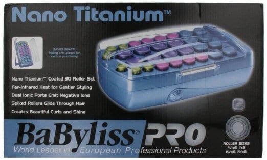 BaBylissPRO Nano Titanium Jumbo 8 Roller Setter