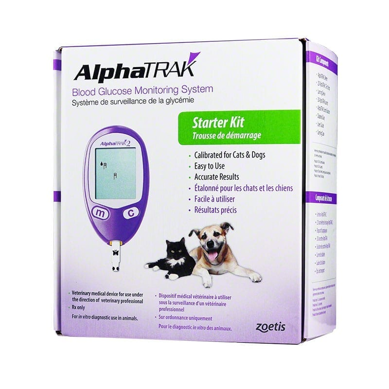 Alpha TRAK 2 Blood Glucose Monitoring System Kit