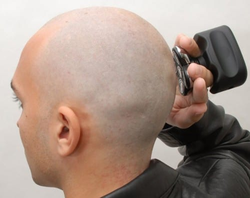 electric head shavers