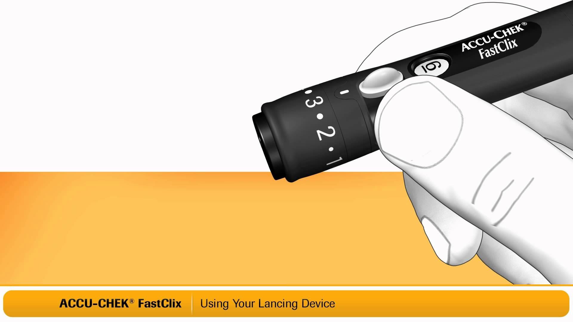 Fastclix Accu-Check Fastclix Lancing Device Kit