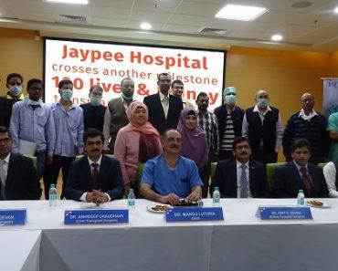 jaypee hospital achievement 100 liver transplant