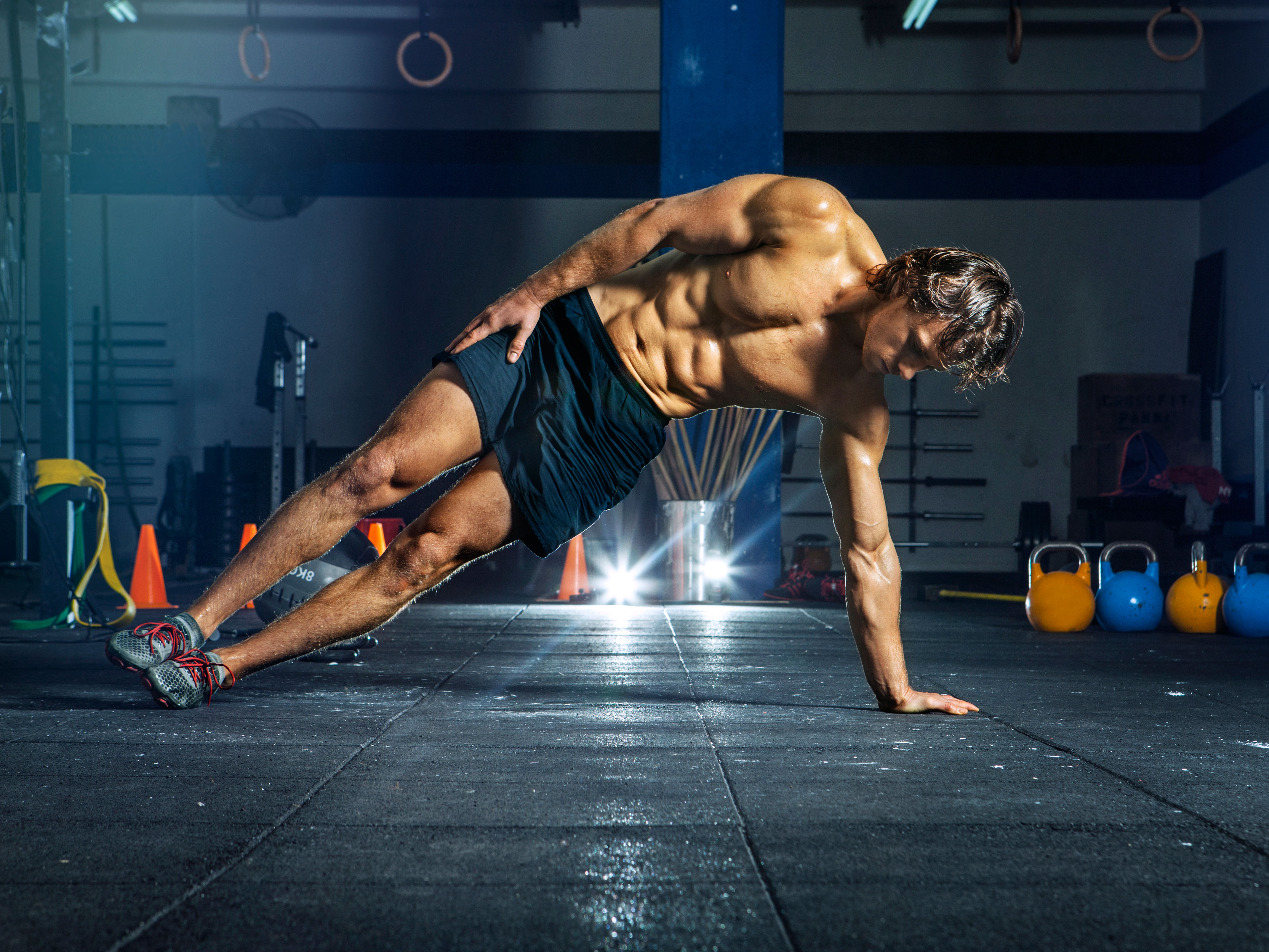 six pack building workouts