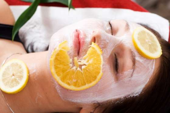 lemon to soften skin