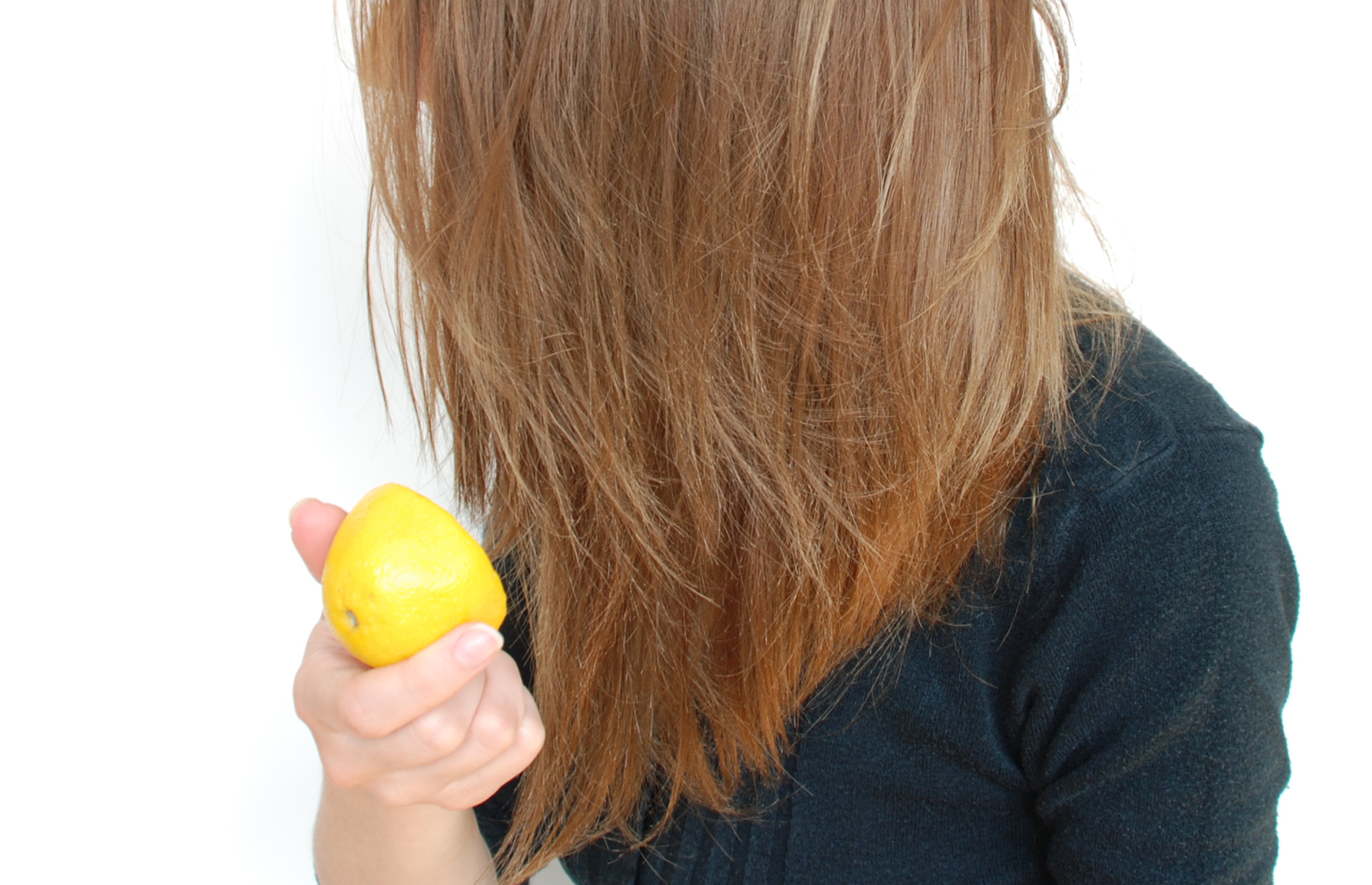 lemon on hair for highlights