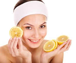 lemon reduces acne