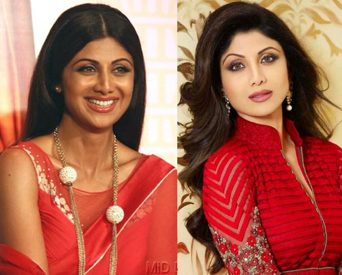shilpa shetty skin lightening