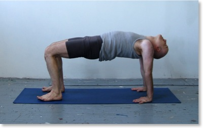 table stretch exercise